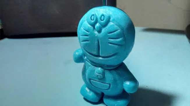 Sabun Bentuk Doraemon